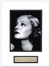 Tallulah Bankhead Autograph Signed